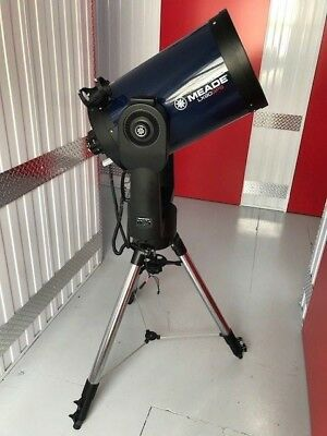 """LX90-GPS 12"""" TELESCOPE F/10 WITH MEADE HD FIELD TRIPOD and EXTRAS"""