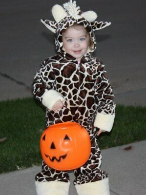 Princess Paradise Giraffe Halloween Costume, Size 18 Month to 2T