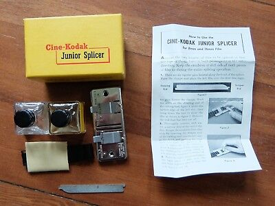 Cine-Kodak Junior Splicer for 8mm and 16mm film