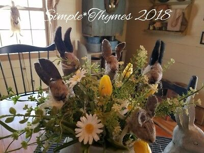 Primitive Spring Rabbit Pokes~Easter~Bunny~EAAM~