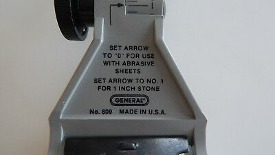 General 809 Chisel & Plane Sharpener Made in USA (New Old Stock) No Packaging
