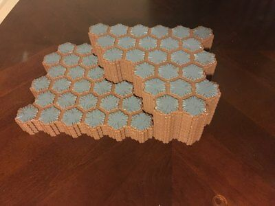 Heroscape Terrain / 14 Rock 24-Hex Tiles / Expand Your Battlefield