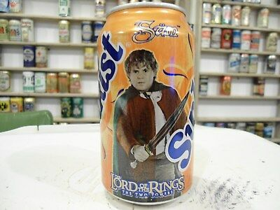 2003 ? The Lord Of The Rings Sunkist Orange Soda Can . The Two Towers . Sam