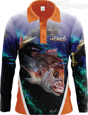 Tackle World Angler Series Snapper Shirt BRAND NEW @ Ottos Tackle World