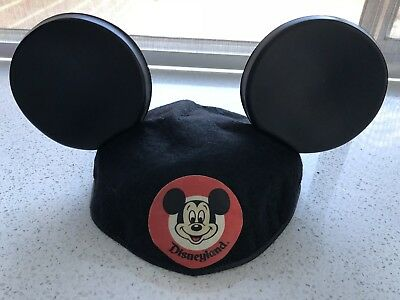 Original Mickey Mouse Ears Hat Disney Embroidered Lisa