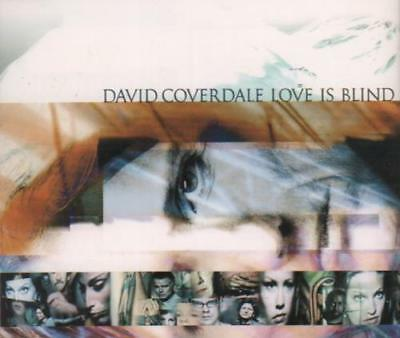 "Love Is Blind David Coverdale CD single (CD5 / 5"") Japanese TOCP-40143 EMI"
