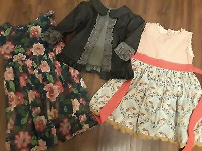Persnickety Lot Size 8 Denim Stella Kassidy Sweet Pea Wildflower Maddie dresses