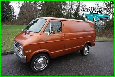1974 Dodge Ram Van NO RESERVE! INCREDIBLE ORIGINAL CA TRADESMAN 100 SHORTY PANEL VAN NO RESERVE! INCREDIBLE ORIGINAL CA TRADESMAN 100 SHORTY PANEL VAN 150PIX+VIDEOS