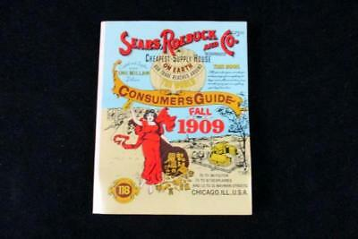 Sears Roebuck and Co Fall 1909 Consumers Guide Catalog Reprinted in 1979