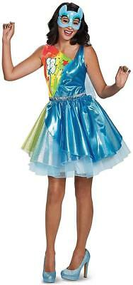 19ae5af805998 Rainbow Dash Deluxe My Little Pony Movie Fancy Dress Halloween Adult Costume