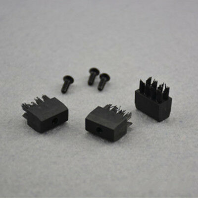 3pcs Arrow Rest Replacement Brush Replacements With Screw for Compound Bow bo1