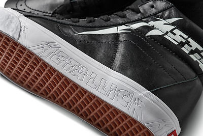 NIB Vans Metallica Limited Edition Kirk Hammett SK8 - Hi Reissue - ON HAND!!!