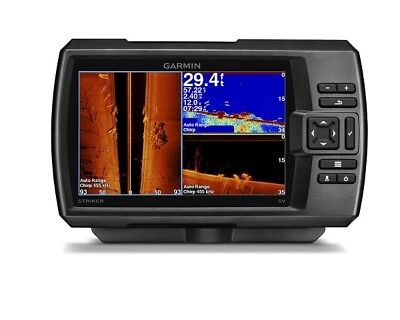 "GARMIN STRIKER 7SV FISHFINDER GPS Fish Finder 7"" COLOUR 010-01809-00"