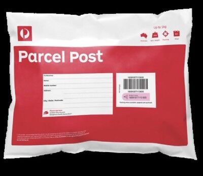 10 X 1KG Australia Post Prepaid Satchel-will Post Same Day Before 4pm EDST