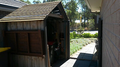Timber Cubby House Roof and wall frame 1.8m w X 1.4m d x 2.4m High approx