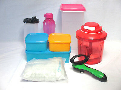 Tupperware combo lot VALUED $245 - Extra Chef, Keepers, Ergologics, Stor n Pour