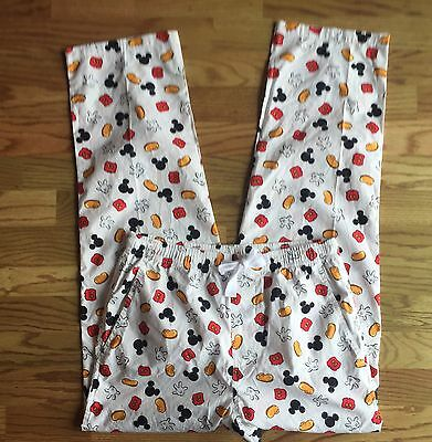 Disney Unisex S Mickey Mouse 100% Cotton Pajama Pants New With Tags