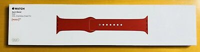 Apple Watch Sport Band 38mm Product Red Stainless Steel Pin MLD82ZM/A Brand New