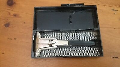 Vintage Gillette Razor-Techmatic-With Box-Made in US #Sunday Market