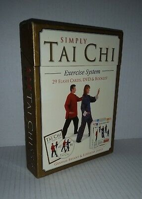 Simply TAI CHI boxed set DVD, booklet & 29 Flash Cards by Bryant & James