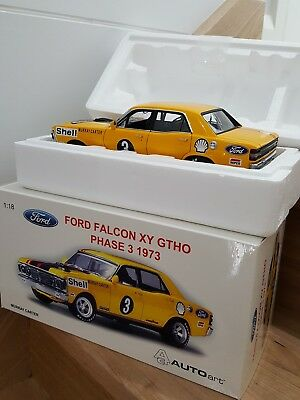 1:18 Ford XY Falcon GTHO Phase lll (M.Carter) 1973 #3 Auto Art 87310