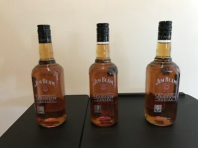 Jim Beam Distillers Series No 1, 2 & 3 Limited Australia Edition