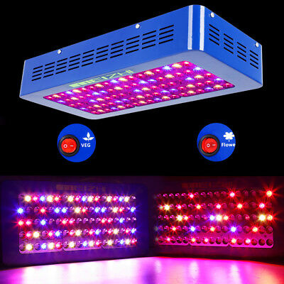 MEIZHI 450W LED Grow Light Panel Hydrokultur Lampe Veg Bloom Switch Für pflanze