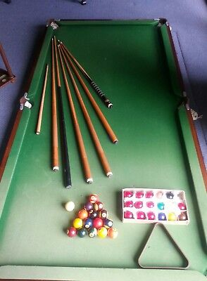 Pool Table Slate 7Ft With Accesories