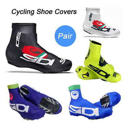 Bicycle Breathable Shoe Covers Bike Cycling Zippered Overshoes Windproof S-2XL