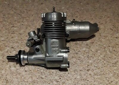 Os max fp 25 model aircraft engine with os 842 exhaust