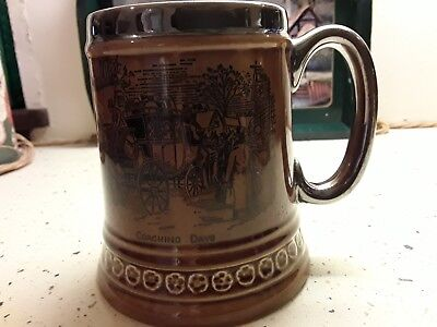 Vintage Tankard Mug by Lord Nelson Pottery, England