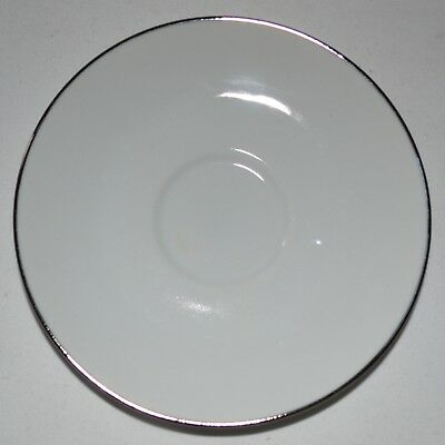 """BRAND NEW Royal Doulton """"SIMPLY PLATINUM"""" Replacement Saucer"""