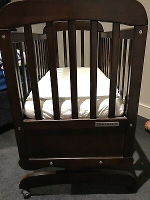 Child Care Lullaby Rocking Cradle