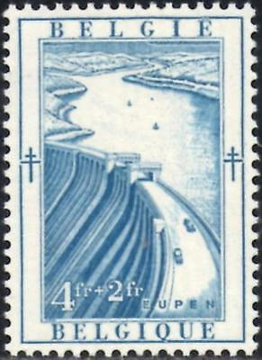 Belgium 1952 Anti-Tubercolosis & Other Funds 4f.+ 2f.Blue  SG.1422  Mint Hinged