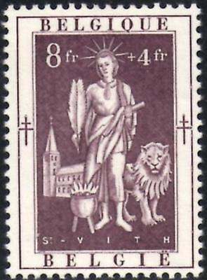 Belgium 1952 Anti-Tubercolosis & Other Funds 8f+4f. Purple SG.1423  Mint Hinged