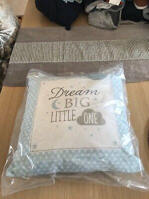brand new in packaging baby boys nursery pillow