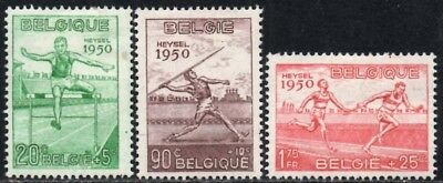 Belgium 1950 European Athletic Chmpionships SG.1311/1313  Mint (Hinged)