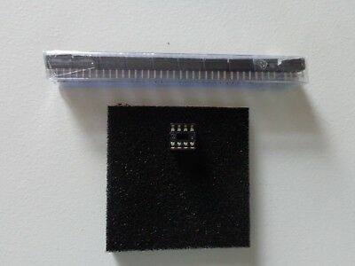 10 x IC sockets low profile PCB mount 8 14 16 pin choose value