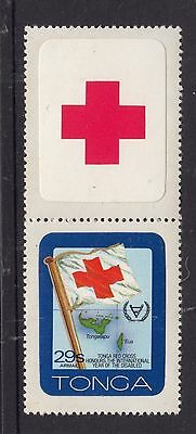 TONGA 29s RED CROSS Year of the disabled MUH