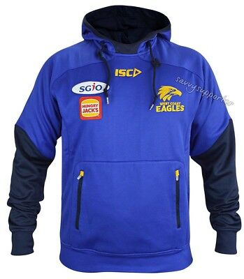 West Coast Eagles 2018 AFL Pullover Squad Hoody Mens and Ladies Sizes
