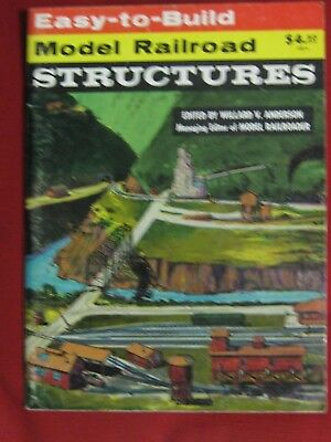 """Easy to Build Model Railroad Structures"" All Scales. Kalmbach Publication."