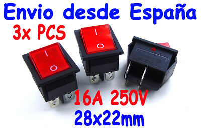 N//O Rojo Redondo Momentaneo Tire Boton In Q5S3 On R SODIAL 5 x 2 Pin SPST OFF//