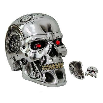 Terminator 2 Judgment Day T 800 Head Keepsake Storage Box Skull Gift Present