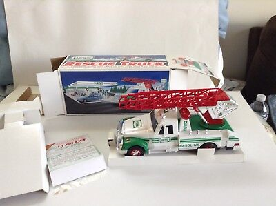 Original Vintage 1994 Hess Rescue Truck With Box