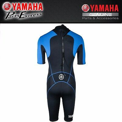 New Blue And Black Yamaha Men's Shorty Wetsuit Mar-15Nst-Bl-**