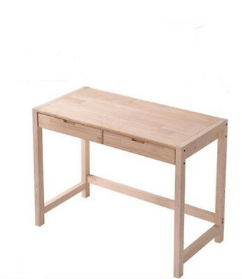 E18 Home Decoration Furniture Office Drawer Pine Wood Computer Laptop Table