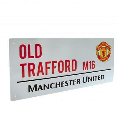 Manchester United Fc Man Utd  Street Sign