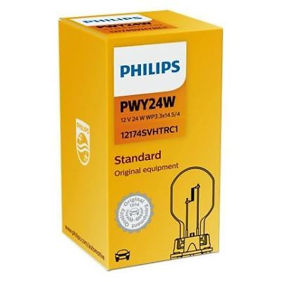 Philips PWY24W Standard Replacement Halogen Car BULB Single 12174SVHTRC1