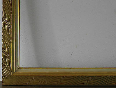 Wood Frame Gold Inside Dimension approx. 50x66 cm
