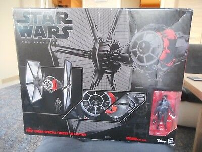 STAR WARS - Black Series - Tie-Fighter First Order incl Pilot - 6inch - OVP